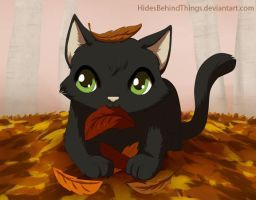 Autumn leaves by HidesBehindThings