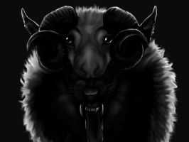 Wolf In Sheep's Clothing by ricenator