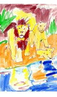 Lions by SamuelZylstra2