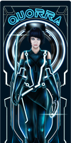 Quorra | Tron Legacy by Fluorescentteddy