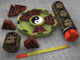 I Ching by Pitsuca