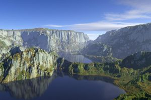Obtenon: The Twin Lakes by zioSergio
