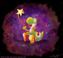 a Star for Yoshi by MissNeens
