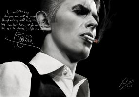 David Bowie by fabius72
