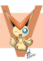 Pokemon - Victini by Kirara-CecilVenes