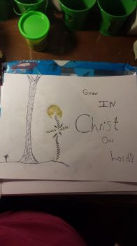 Grow with christ by JohnnyandMe