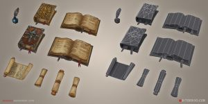Loot, Books and Scrolls by tsabszy