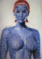 Mystique - Jennifer Lawrence (X-Men) by EduardoCopati