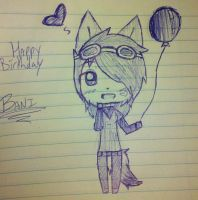 Happy Birthday Bani by howlowl