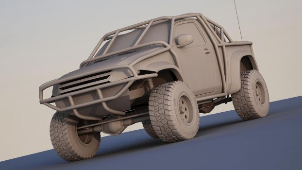 pickup concept Wip by spittty