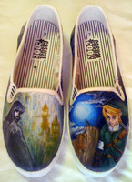 Legend of Zelda - Shoes by watermelonz