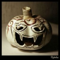 the brown side of the Pumkin by Dae-ekleN