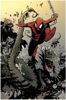 Spiderman by puzzlepalette