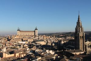 The most famous view of Toledo by zhuravlik26