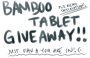 Tablet Giveaway!~ WINNER by prima-parfait