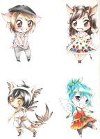 C: Chubby Chibi Batch 2 by Captain-Kiryu