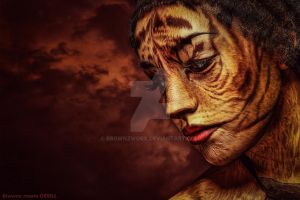Tiger Lady by BrownzWorX