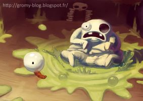 Peep - Binding of Isaac by Gromy