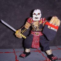 Undead Ninja Figure by the-gil-monster