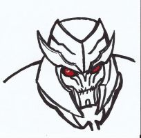 Megatron Smirk by Drabble-Monster