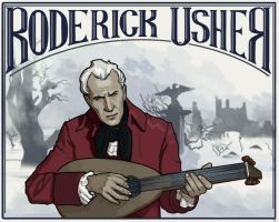 Roderick usher by glooh