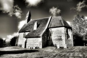 A Country Church by Deb-e-ann