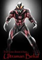 Ultraman Belial by Dayheart