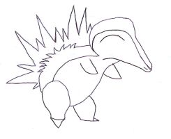 Amature Hour Cyndaquil by SakuraRocks101 Amature Hour Cyndaquilin Drawings