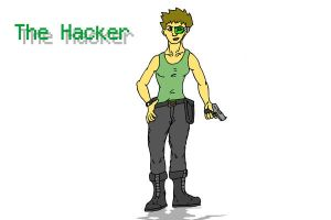 The Hacker by patob215