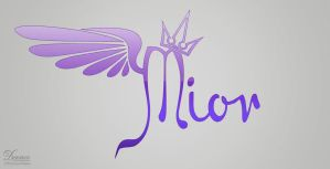 Mior Logo by demeters