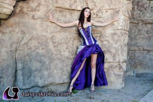 Purple Gown Fall 2011 by DaisyViktoria