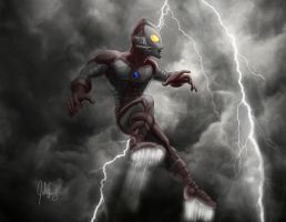 Ultraman Storm Watch by manguy12345