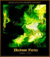 Abstract - Blackmoor Faeries by Silverhyren