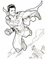NEW 52 Superman by artistjerrybennett