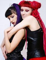 Red and Purple3 by venusmantrap
