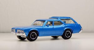 MBX 1971 Olds Vista Cuiser Stationwagon in Blue by Firehawk73-2012