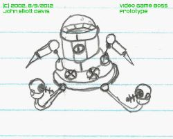 video game boss prototype - 2002 by LittleGreenGamer