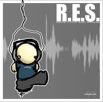 R.E.S. - CD cover by neonblaze