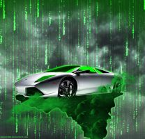 Matrix Murcielago by souhail88