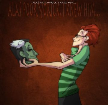 Alas poor ..., I knew him by Stumppa