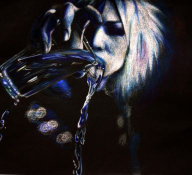 Ruki with... water by BlackSunlight114
