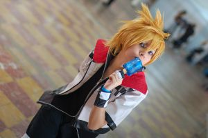 'A little taste'  Roxas by SanctusIX