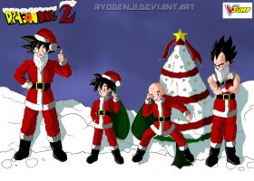 VJump Christmas contest - DBZ Christmas Edition by RyoGenji