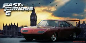 Fast and Furious 6 - 1969 Dodge Charger Daytona by 212thTrooper