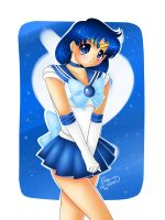 Sailor Mercury by Lennal