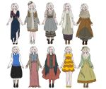 Luna Lovegood Outfits by FruitConflate