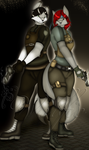 .:Commission Hermanos en Guerra: by ShadyDemonWolf