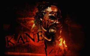 The Big Red Monster Kane Wallpaper. by Mohamed-Fahmy