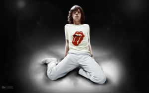 Mick Jagger by Hermosilla