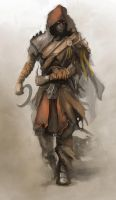 Nomad Warrior by N-Deed